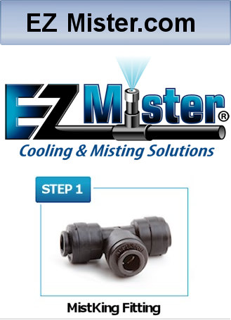 Find out more about EZMister misting systems